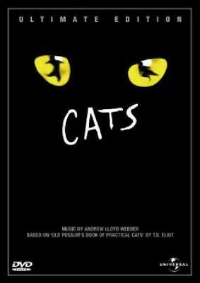 Cats DVD Ultimate Edition Format PAL Anamorphic Widescreen Colour HiFi Sound NEW