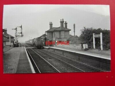 Photo  Rossington Railway Station Gnr 1955 Bawtry - Doncaster