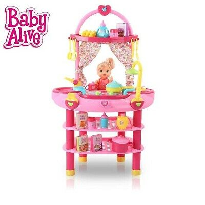 Baby Alive Doll 3 In 1 Cook N Care Play Set *Niob*