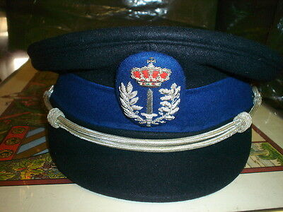 ancienne casquette commissaire  adjoint