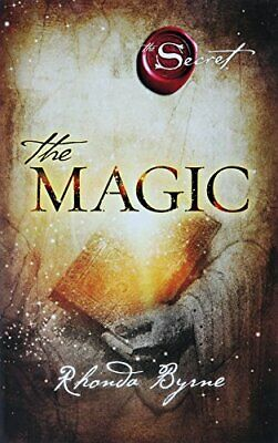 The Magic by Rhonda Byrne, Paperback Used Book, Very Good, FREE & FAST Delivery