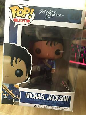 !!!!!Brand New Funko Pop Michael Jackson #26 with box Pop Protector !!!!!