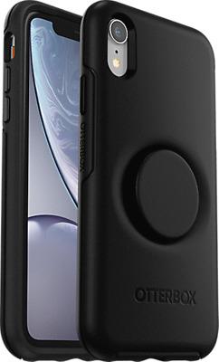 OtterBox Otter + Pop Symmetry Series Case for iPhone XR - Black