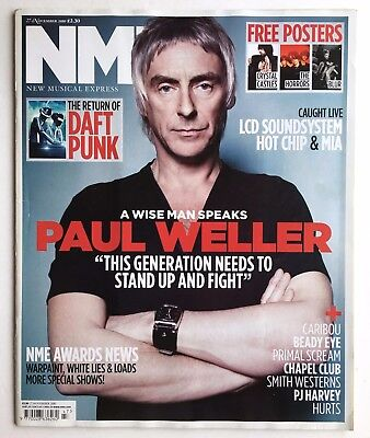 Paul Weller - Pj Harvey - Caribou - Jessie J - Example - Nme 27/11/2010