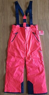 BNWT Girls Boys THE NORTH FACE SKI Red Sallopette TROUSERS Size L 14-16 years