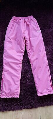 Girls Hot Pink Ski Trousers  Size 26''  Excellent Condition