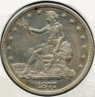 1877-S Silver Trade Dollar - San Francisco Mint BG331