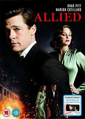 Allied (DVD + Digital Download) [2017], New, DVD, FREE & FAST Delivery