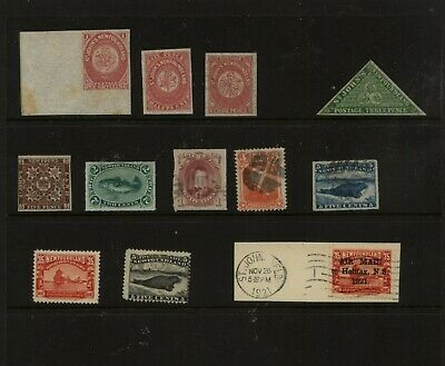 Newfoundland  nice lot of better stamps mint and used      JM1106