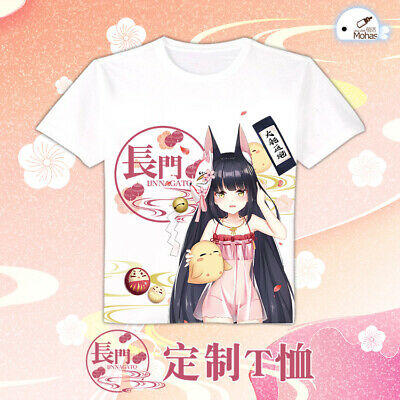 Game Azur Lane Vampire Short Sleeve T-shirt Unisex Tops Tee Casual S-4XL
