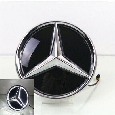 Illuminated LED Light Front Grille Star Emblems Badge for Benz ML GLC GLE GLS