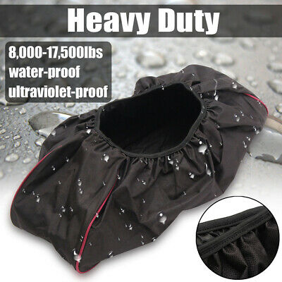 600D Winch Cover Waterproof Dustproof Oxford Fabric Car 8000-17500 Capacity