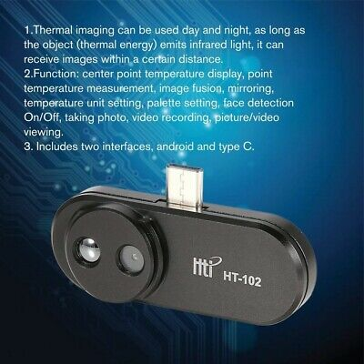 HT-102 USB Type-C Infrared Camera Thermal Imager 640x480 for Android Phone