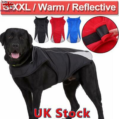 Dog Winter Coat Waterproof Pet Clothes Rain Snow Jacket for Small & Large Size