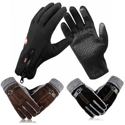 Men Women Touch Screen Winter Ski Warm Gloves Motorcycle Driving Gloves Mittens