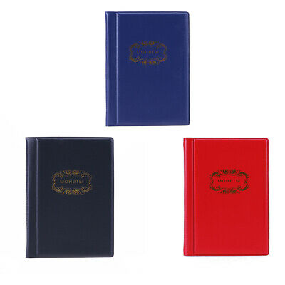 120 Coin Storage Penny Pockets Money Album Book Collecting Coin Holders NEW