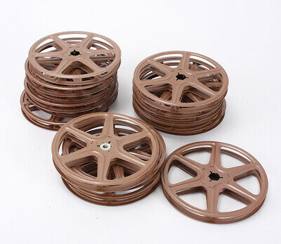 8Mm/Super 8 Projection Reels, 200 Foot, Box Of 15/209595