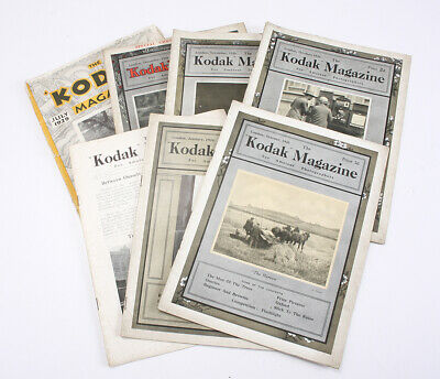 Kodak Ltd Kodak Revista, 1924-29, Siete Issues / Cks / 202607
