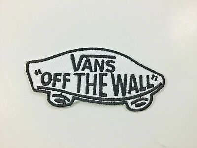 """Vans ~ """"Off The Wall"""" ~ Embroidered Iron On Patch"""
