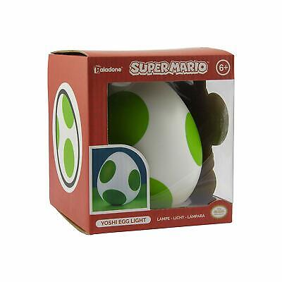Official Super Mario Yoshi Green And White Egg Night Light Lamp