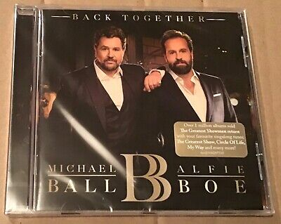 Michael Ball And Alfie Boe Back Together Cd Brand New And Sealed