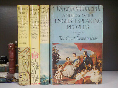 Winston Churchill - A History Of The English-Speaking Peoples - 4 Books(ID:6326)