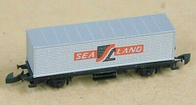 SEA LAND container wagon   by MARKLIN   Z Gauge