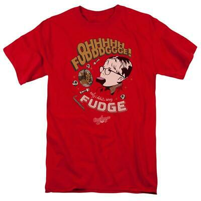 A Christmas Story 1980/'s Movie OHH Fuddgge Only I Didn/'t Say Fudge Adult T Shirt