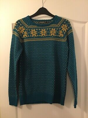 Haywire Boys Nordic Christmas Jumper Size XLB 13-14 Years