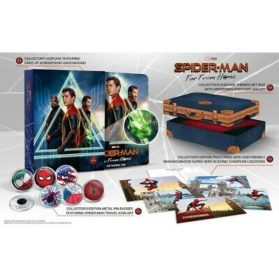 Marvel - Spider-Man Far From Home - Collector's Steelbook Blu-Ray & 4K Boxset!