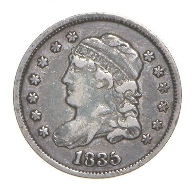 1835 Capped Bust Half Dime *4575