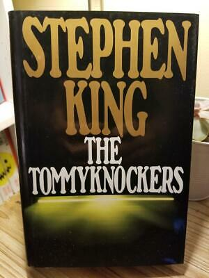 The Tommyknockers by Stephen King 1987 GOLD Cover 1st Ed Later Print HB DJ VGC!