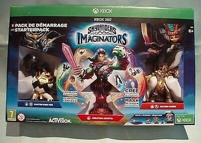 """An """"Xbox 360 Skylanders Imaginators"""" Starter Pack Boxed -No Game- Good Condition"""