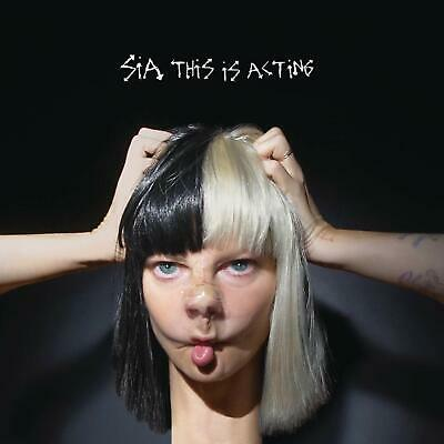 Sia This Is Acting Format Audio CD 29 Jan. 2016 Label RCA Number of Discs 1 New