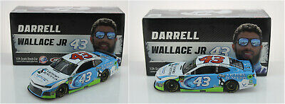 Nascar 2019 Darrell Wallace Jr #43 Victory Junction 1/24 Starts Shipping 7-18-19