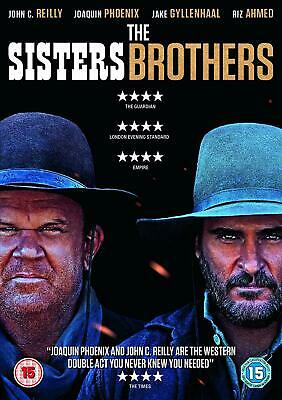 The Sisters Brothers DVD Format PAL Language English Universal Pictures UK 2019