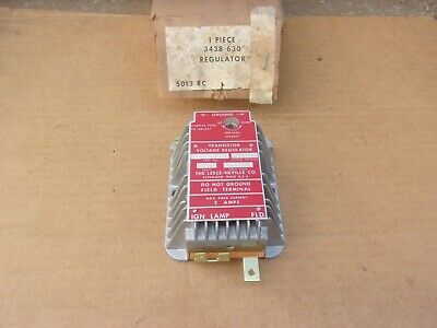 1970 71 72 73 Plymouth Dodge Cop Car NOS 65 AMP Leece Neville VOLTAGE REGULATOR