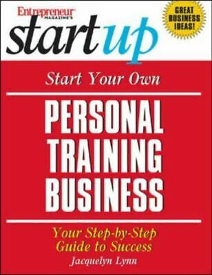 Entrepreneur Press, N/A, Start Your Own Personal Training Business, Like New, Pa