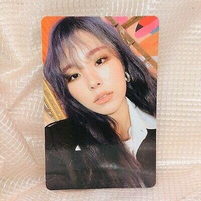 Wheein Official Photocard MaMaMoo 2nd  Album Reality in Black kpop ver 2 HIP