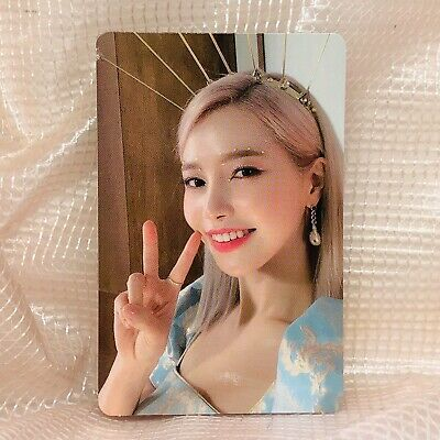 Solar Official Photocard MaMaMoo 2nd Full Album Reality in Black kpop ver 2 HIP