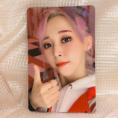 Moonbyul Official Photocard MaMaMoo 2nd  Album Reality in Black kpop ver 1 HIP