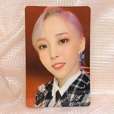 Moonbyul Official Photocard MaMaMoo 2nd  Album Reality in Black kpop ver 2 HIP