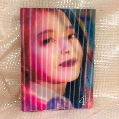 Solar Official Lenticular Photocard MaMaMoo 2nd Full Album Reality in Black HIP