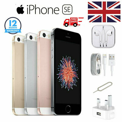 Apple iPhone SE 16GB 32GB 64GB Factory Unlocked Smartphone/Rose,Grey,Silver,Gold