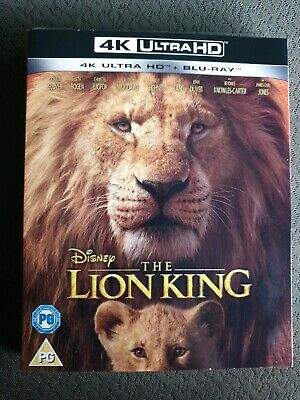 The Lion King (4K Ultra HD + Blu-ray) [UHD] RELEASED 18/11/2019 with sleeve NEW