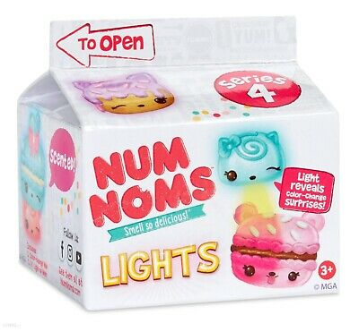 5 X Num Noms Lights Series 4 Smell Delicious Mga Brand Grab Bag Blind Bulk New