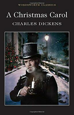 A Christmas Carol (Wordsworth Classics) by Dickens, Charles, NEW Book, FREE & FA