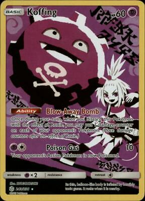 (SM12-243) Koffing (Secret Rare) Pokemon Cosmic Eclipse Card # 243