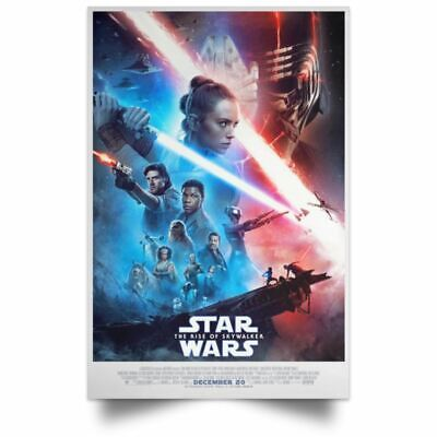 The Rise Of SkyWalker Star Wars New Poster Size 12x18 16x24 24x36