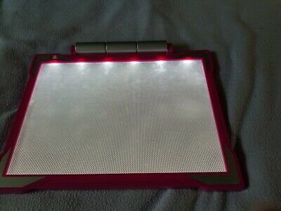 Crayola Pink Tracing Light Box - run by batteries.